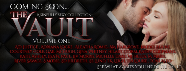 The Vault Vol 1 coming soon banner